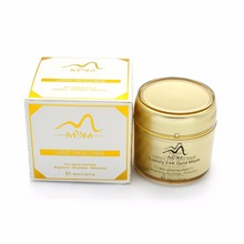 alibaba Antiaging Crystal 24K Gold Collagen Facial Mask 24 karat gold ring face mask