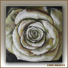 Golden rose oil painting