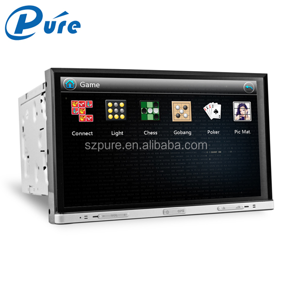 Professional 2 Din Touch Screen Car Stereo 8 inch GPS Bluetooth Radio Multimedia Car DVD Player