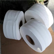 Manufacturer 2 Ply Virgin Soft Toilet Tissue Paper Mini Jumbo Roll