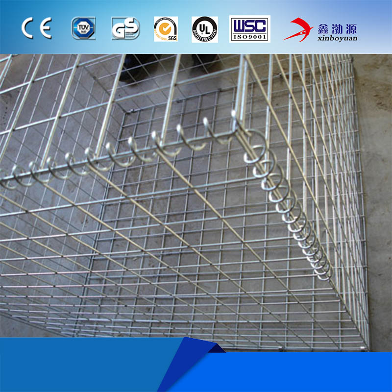 High quality varieties welded galvanized gabion wire mesh