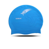 Fashional designed waterproof silicone swimming hats