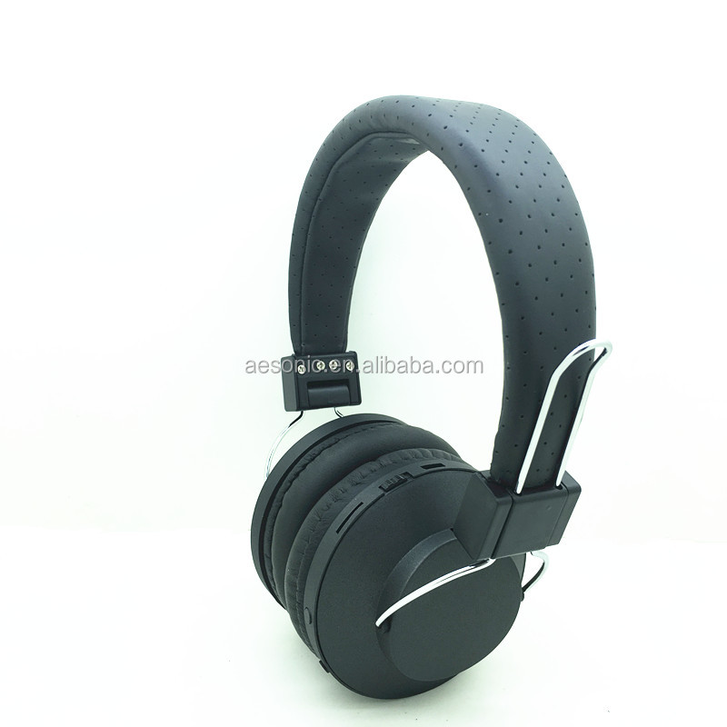 NFC stereo wireless bluetooth stereo headphone with portable USB transmitter