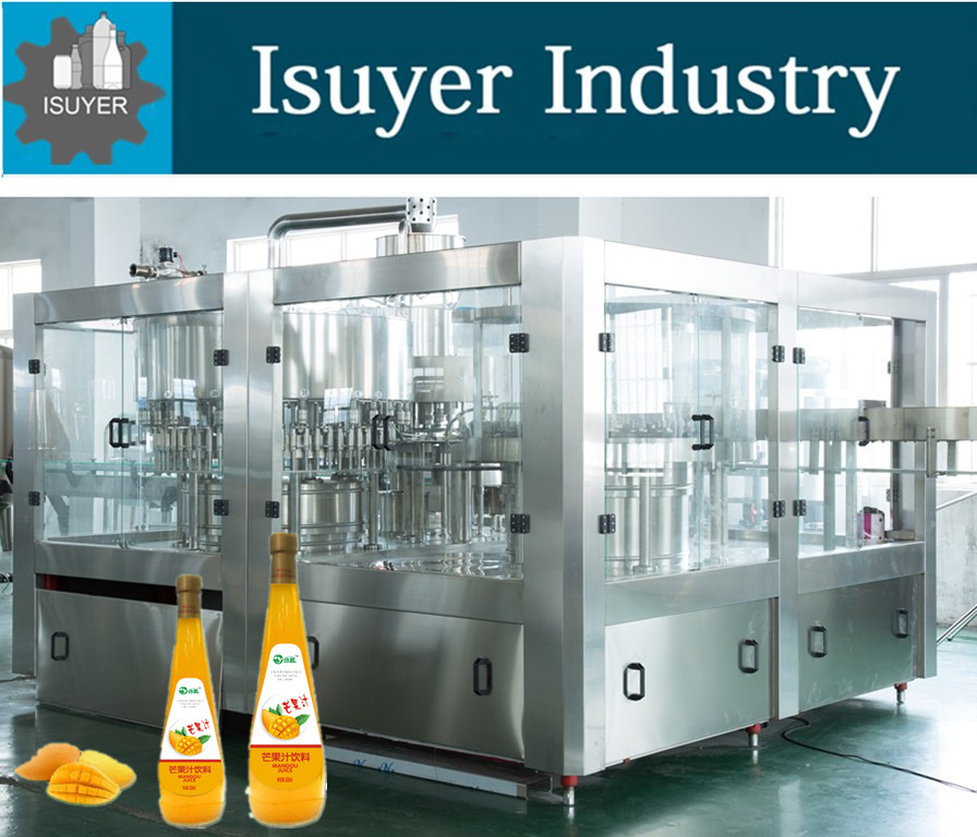 Juice/ Tea Drink/Pure Water/Mineral Water Product Line(Washing/Filling/Labeling/Shrinking label and PE film Warping Machine)