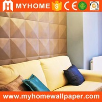 Beach design modern wood wall panels plastic wall covering panels
