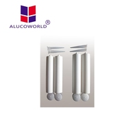 Alucoworld clear epoxy resin water tank silicone sealant hot sale over the world