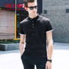 Men Summer Short Sleeved Polo Shirts