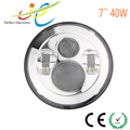7'' 40W round led headlight jeep parts harley parts