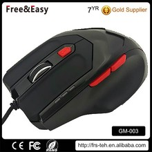 Adjustable dpi 6D OEM wired gaming mice
