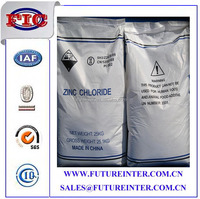 Zinc chlorides, of which nine crystalline forms are known, are colorless or white, and are highly soluble in water