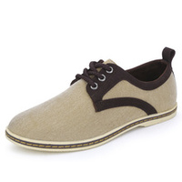 Spring and summer men's fashion trends minimalist canvas high quality wear non-slip shoes