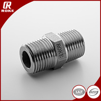 316 Stainless Steel NPT Threaded Adapter Nipple Joint