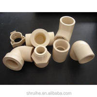 cpvc tubes/cpvc hot water pipe/CPVC pipes and fittings