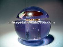 Purple Apple Shape Crystal Perfume Bottles Gifts MH-X0578