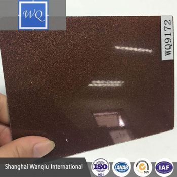 Chinese woodgrain color matt color mdf and acrylic display