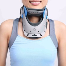 Hot selling medical cervical support collar orthopedic neck support device