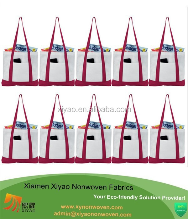 Lightweight Beach Tote Bag-NON WOVEN SHOPPING SHOULDER FOLDING BAGS