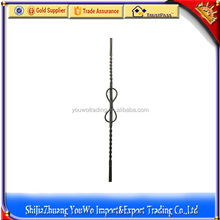 iron cast components / wrought iron / aluminium handrail parts for iron gate and fence