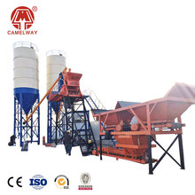 Patented Technology Special export simple small mini HZS25 concrete batching plant