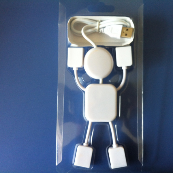 Lovely Human Shape 2.0 4 port usb hub