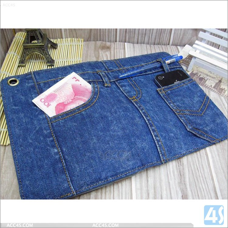 Weatern Jeans Case for iPad Mini 3 Retina