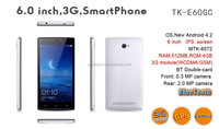 Hot sale quad core 3G phone call 6 inch android tablet pc phablet
