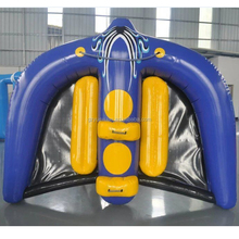 Hot sale custom Flying Tube Inflatable Flying Manta Ray / Fly Fish Inflatable for Water Park