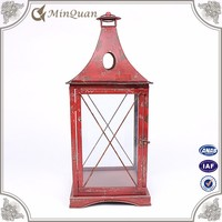 cheap moroccan metal lantern , decoration lantern for candle