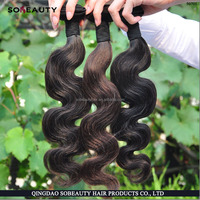 Hot Sale Oiginal Unprocessed number 2 hair color weave