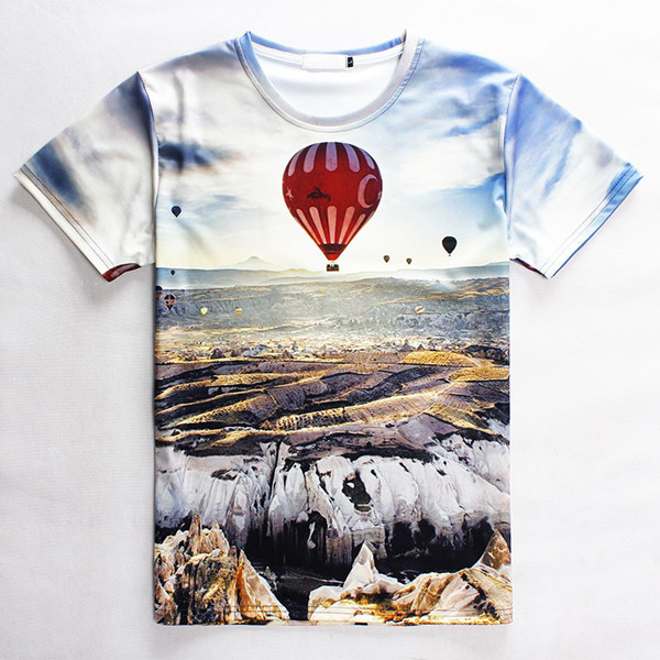 Digital sublimation 3d printing custom t shirt printing for Print photo on shirt