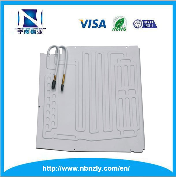 Mini fridge parts roll bond evaporator