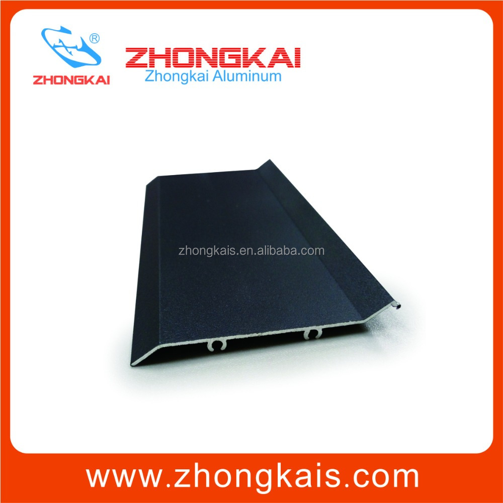 China Extruded Aluminium Louver Blade/Aluminum Extrusion Blade Profiles