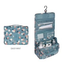 Waterproof Multifunction Oxford Fabric Cosmetic Bag Travel Hanging makeup Organizer Bag for Women Girls