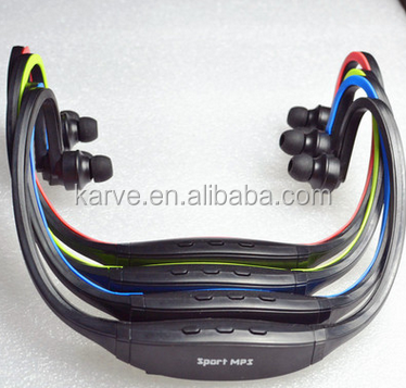 Sport MP3 Player S9 Support TF Card Headphone