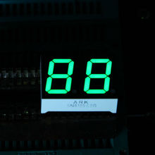 ARK high quality 7 segment, 0.52 Inch Dual Digit led display Clock Timer