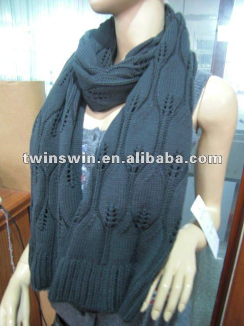 2012 new coming design for winter ladies neckwear scarf