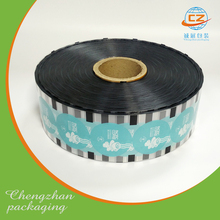 Packing plastic cup film roll for coffee