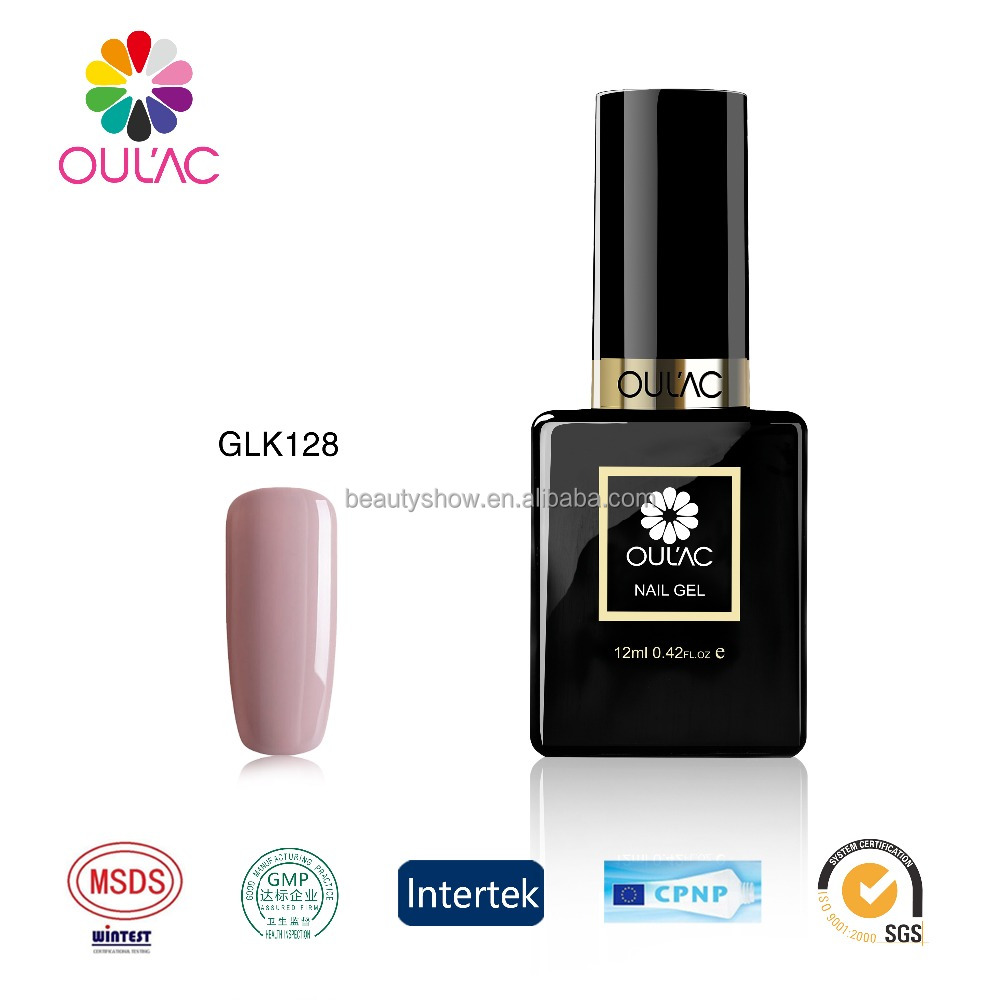 OULAC Nail <strong>Gel</strong> Polish Soak Off <strong>Gel</strong> Long Lasting UV <strong>Gel</strong> Colorful Polishes Nair Art Nude Colors Series nail polish