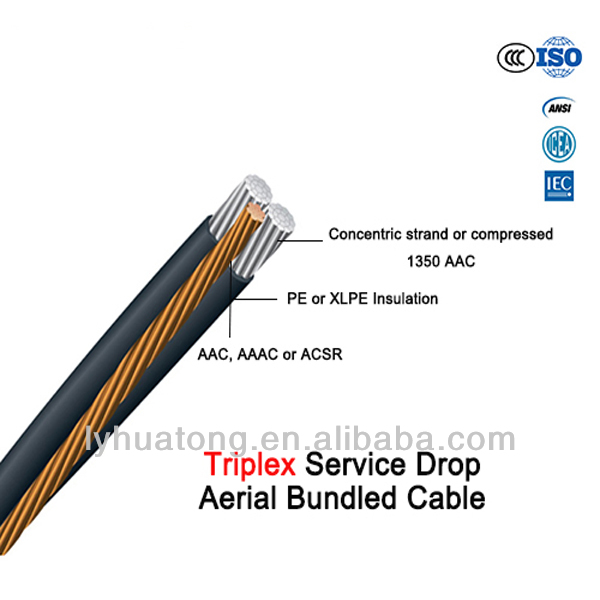 0.6/1 kv insulated overhead Aerial bundled cable