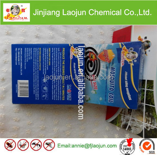 environmental friendly long burning time strong effective black mosquito coil