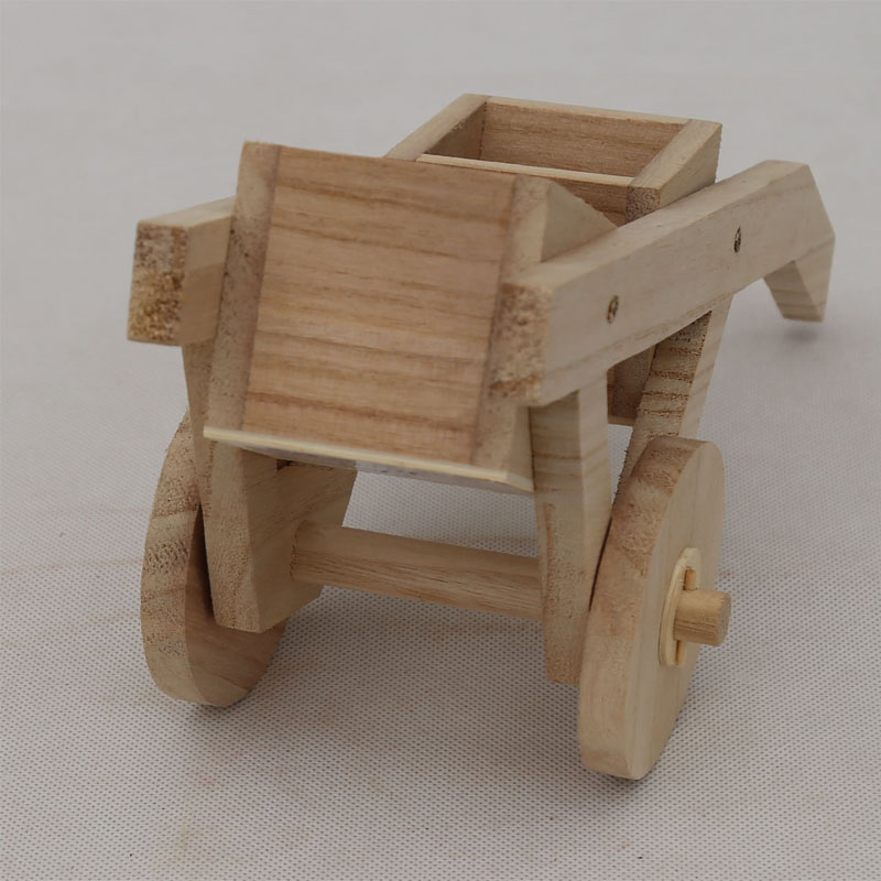 Popular customized color wooden model car