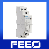 Din Rail 18mm 2 pole Magnetic Household Contactor