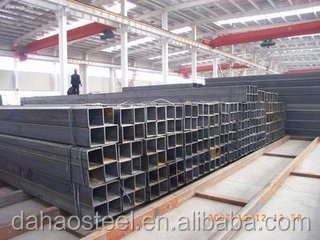 new premium of steel square pipe/tube for building material