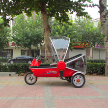 hot battery operated high quality electric vehicle for Chile market three wheeler