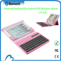 2015 most popula bluetooth keyboard case for nook hd