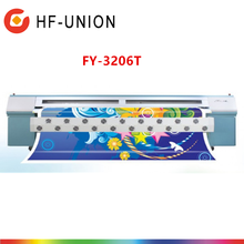 Wholesales price 3.2M second hand sticker label printing machine FY-3206T solvent printer with Seiko heads SPT510-35PL in dubai