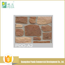 Best Selling Interior Decorative Fireproof Cultured Stones Artificial Wall Brick PDO-A Tiles