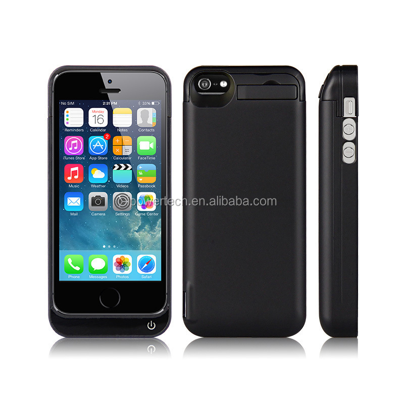 4000mAh Emergency Backup Battery Case for For IPhone5 Power Case