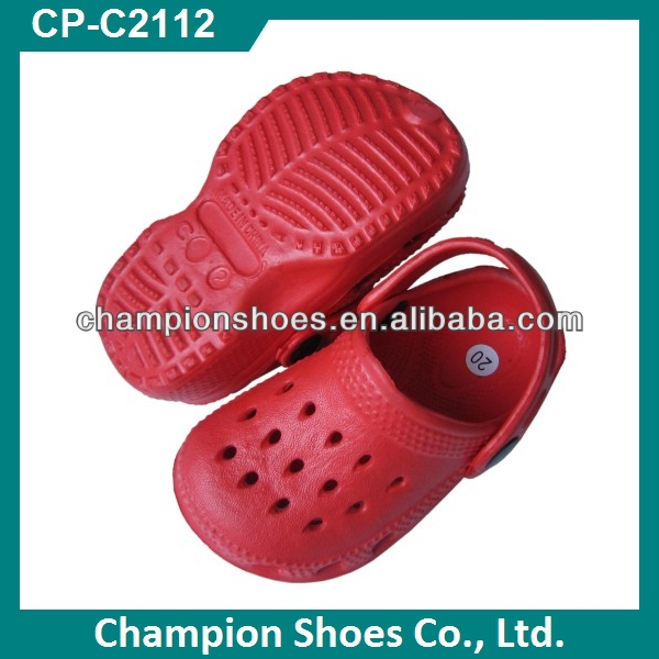 Holey Kids Clogs Shoes