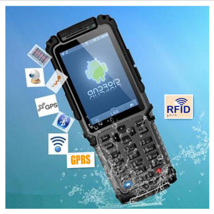 android 4.0 2d barcode scanner pda with gprs/gps/rfid TS-901